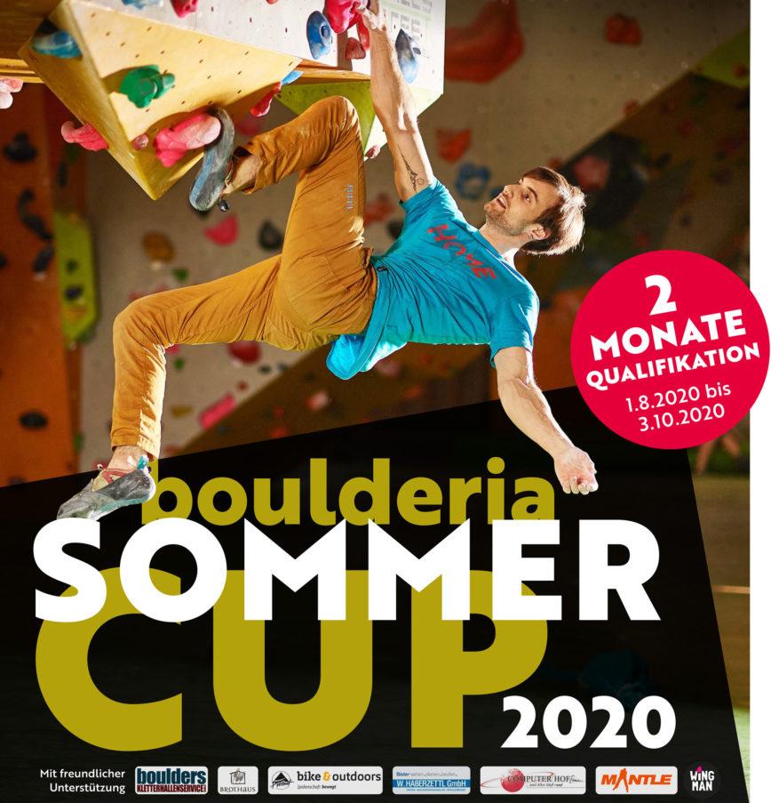 Finaltag Boulderia-Sommer-Cup 2020 steht fest