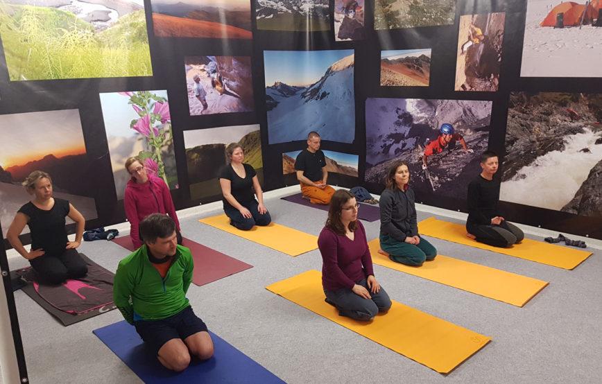 Yoga-Kurs im November